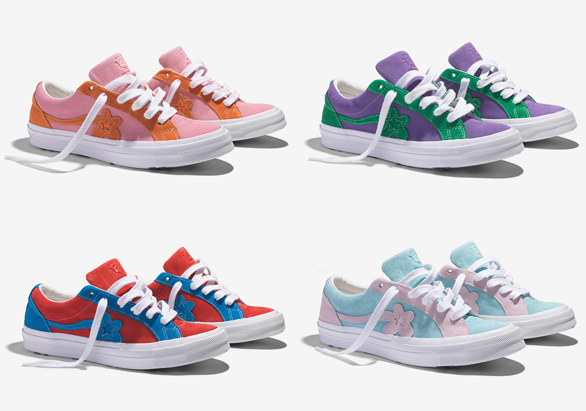 0a50272b377af2 Where To Buy  Tyler The Creator x Converse Golf Le Fleur ...