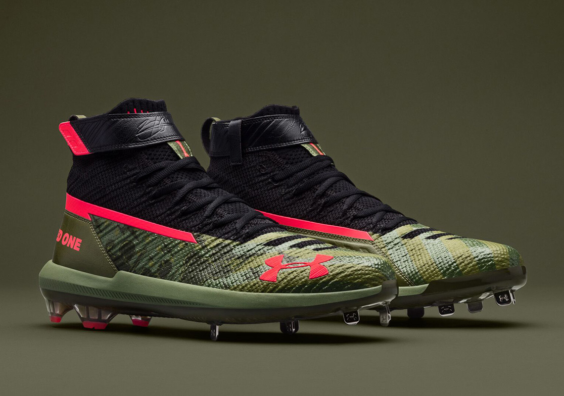410d4b58e79 Under Armour And Bryce Harper To Release Cleats For Memorial Day