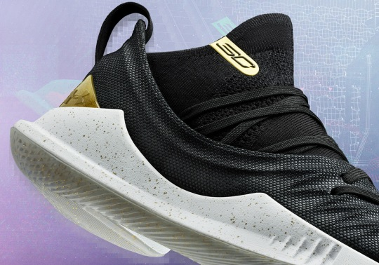 Steph Curry's Got New UA Curry 5 Colorways For The NBA Finals