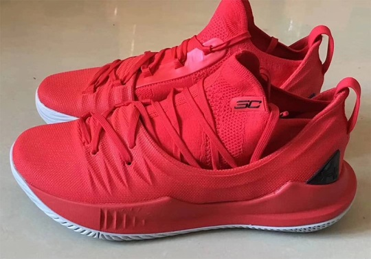 The UA Curry 5 Is Going All Red