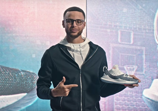 "Steph Curry And UA Introduce The Curry 5 With ""Wired Different"""