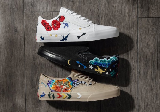 "Vans Decorates Its Classics With The ""Desert Embellish"" Pack"