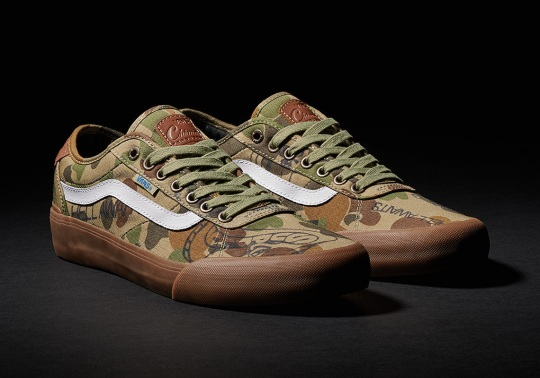 Supply And Vans Release A Camouflaged Chima Pro 2