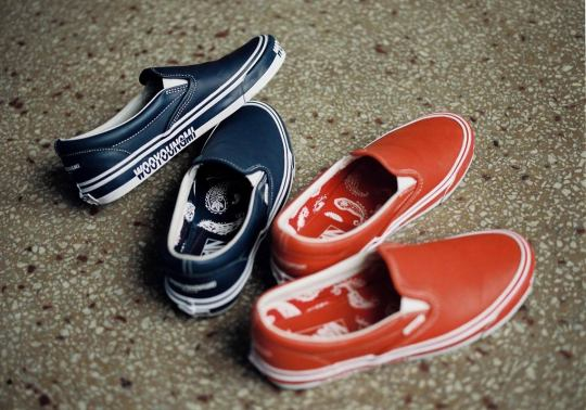 Korea's WOOYOUNGMI And Vans Team Up For Two Slip-Ons