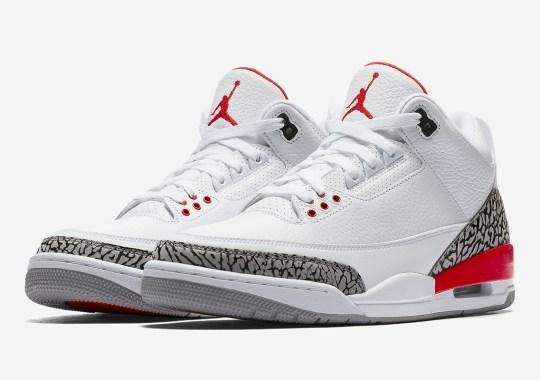 "Where To Buy: Air Jordan 3 ""Katrina"""