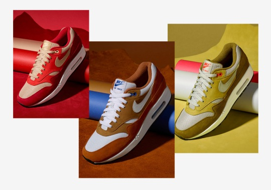 "Where To Buy: Nike Air Max 1 ""Curry"" Pack"