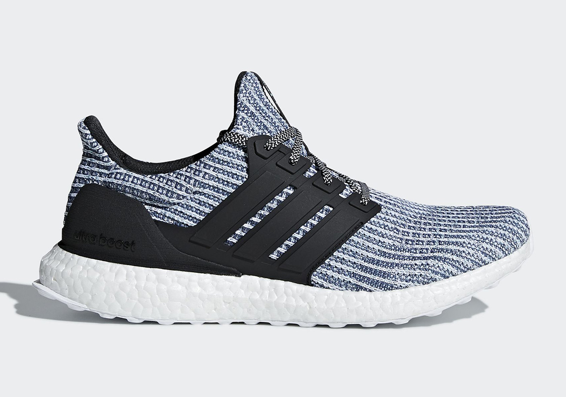 online store 9f16d f9e96 Parley x adidas Ultra BOOST (WMNS)  180. Color  CLOUD WHITE CARBON BLUE  SPIRIT