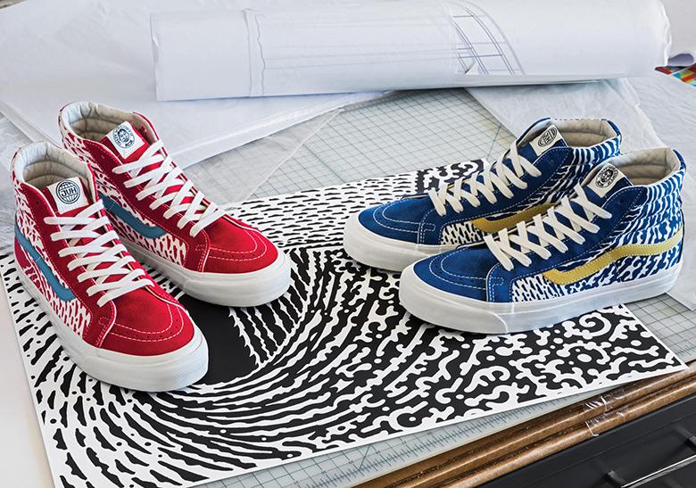 d75a3a7ef73e1f John Van Hamersveld x Vans Sk8-Hi Collection | SneakerNews.com