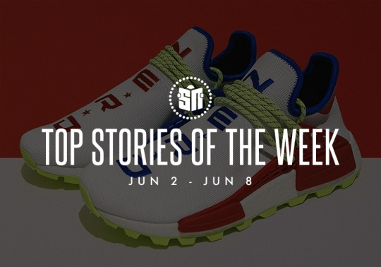 Release Info For Every OFF WHITE x Nike Shoe, Another N*E*R*D NMD Hu, And More Of This Week's Stop Stories