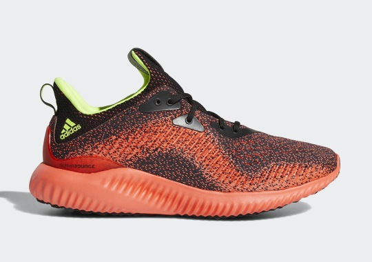 """adidas Alphabounce """"Solar Red"""" Is Dropping This Weekend"""
