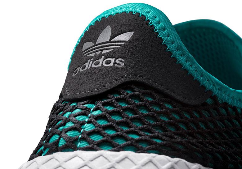 outlet store 90d47 b8052 adidas Deerupt Release Date July 5th, 2018. AVAILABLE AT adidas 100.  Color Hi-Res Aqua  Hi-Res Aqua  Core Black