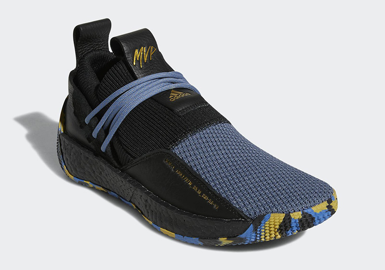 Adidas Harden Vol Ls Mvp 780 Yeezy Utility Black Release