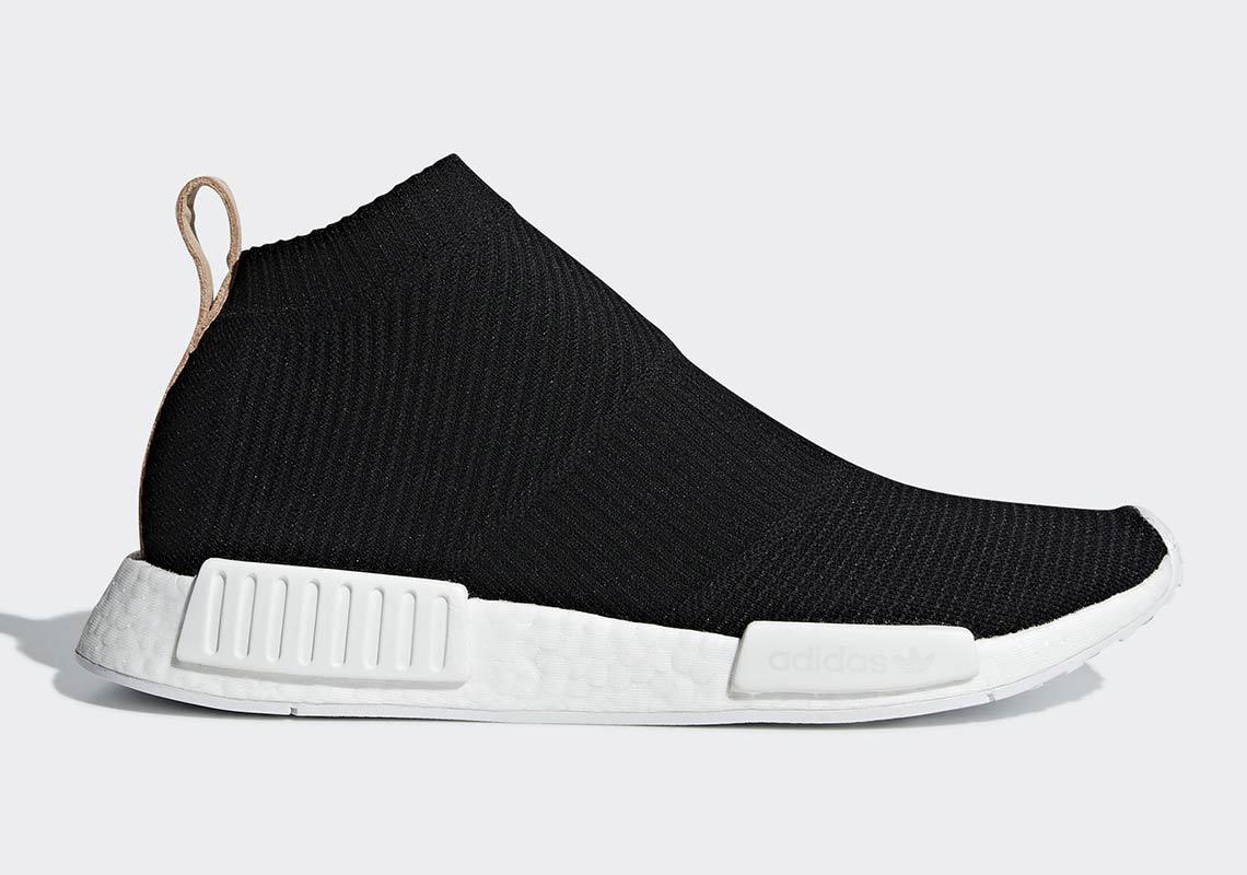 gris saber refrigerador  adidas NMD City Sock Black/Tan Leather AQ0948 Release Date | SneakerNews.com
