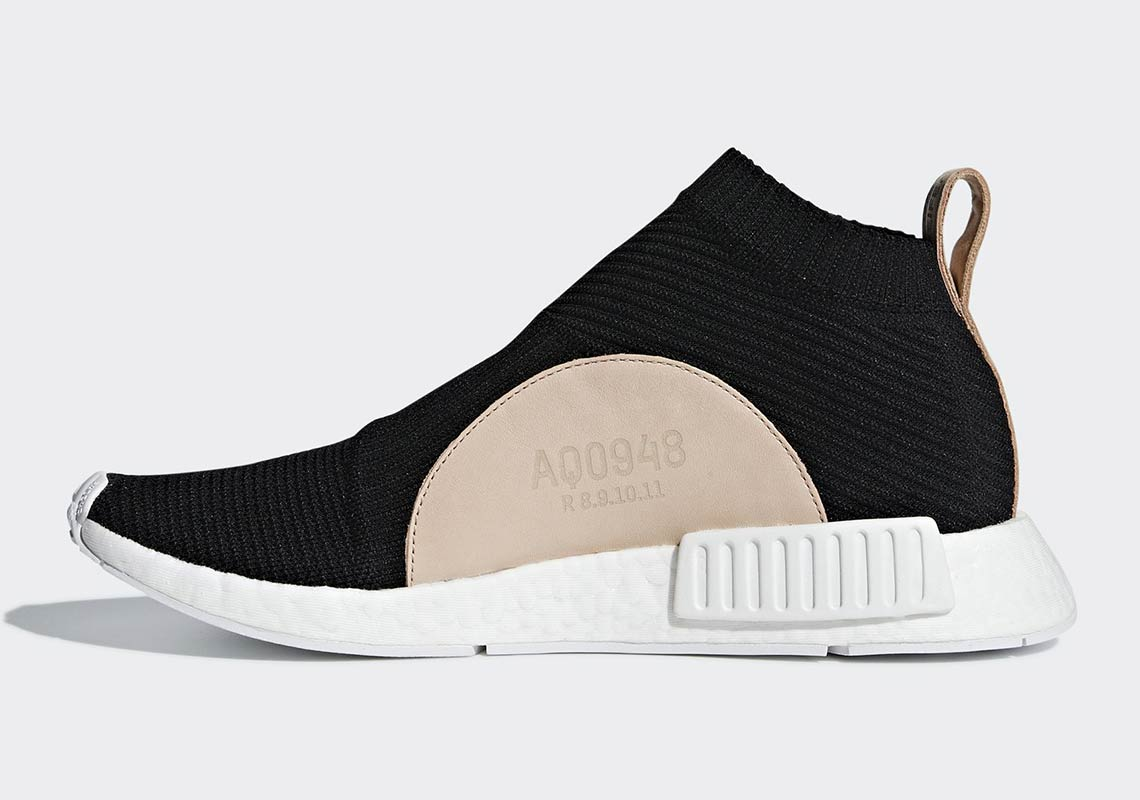 3c5350b3 adidas NMD City Sock Black/Tan Leather AQ0948 Release Date ...