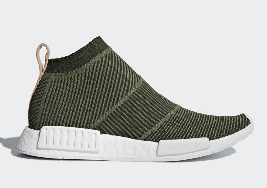 adidas NMD City Sock Releasing In Olive On July 1st