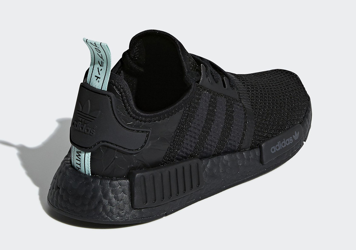 3da1947dda68d adidas NMD R1 In Black And Mint Is Coming On July 1st