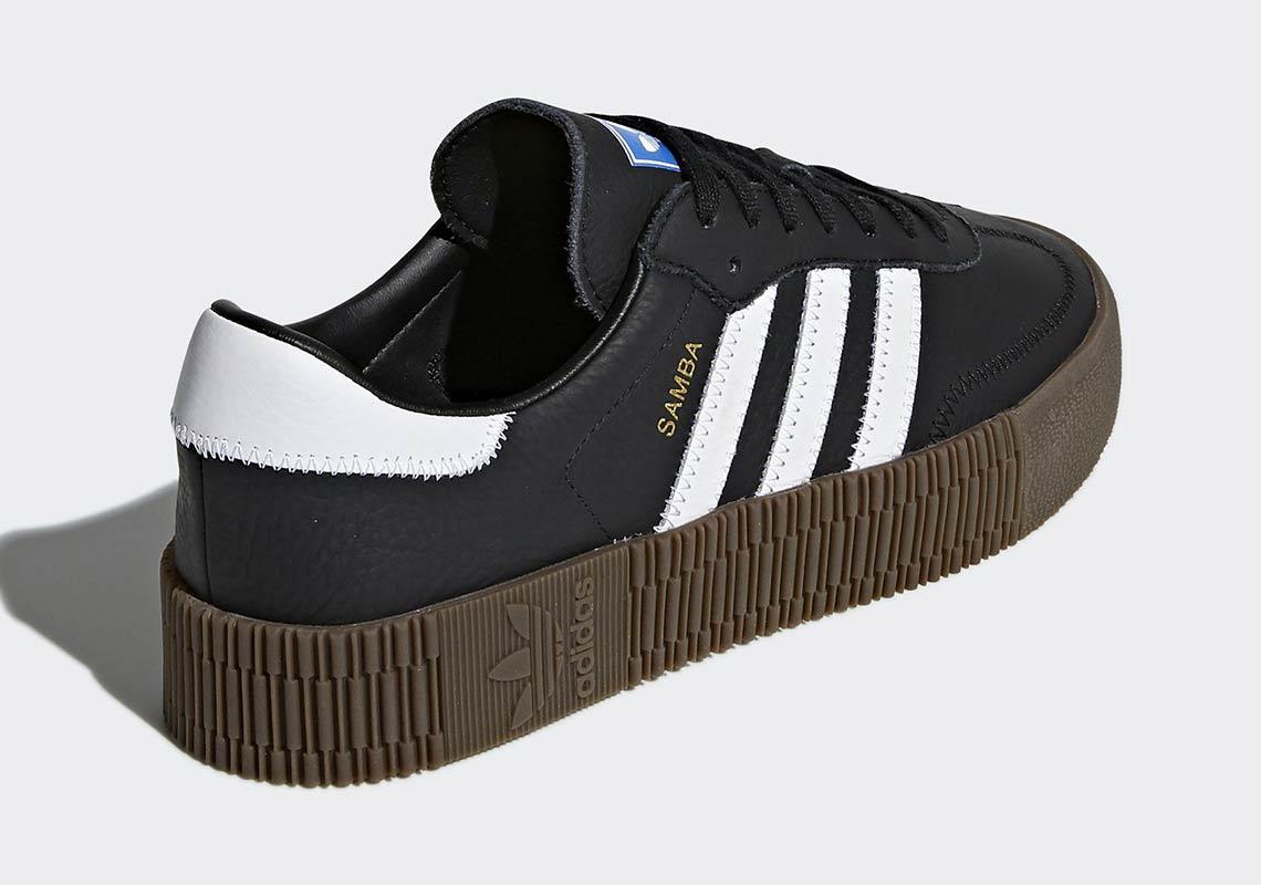 buy popular 6ba7c 9310a adidas Originals Womens Samba Rose Available Now  SneakerNew