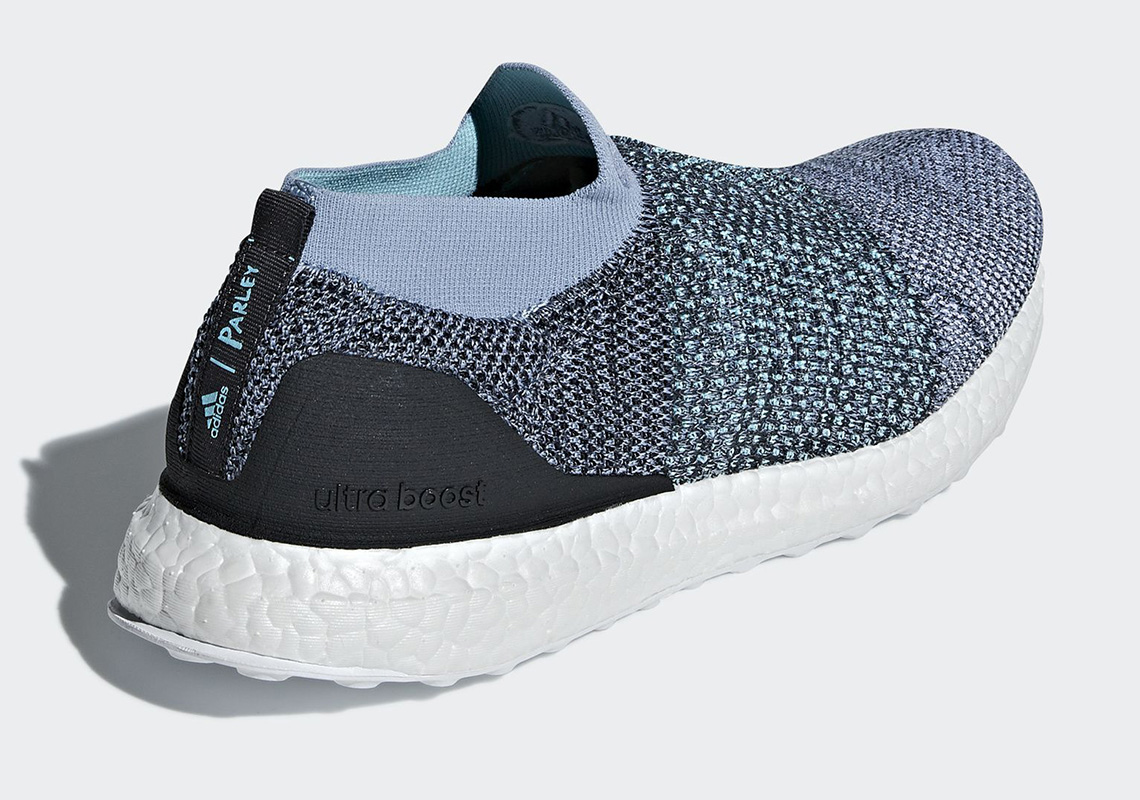 63db71e55d3ac Parley x adidas Ultra Boost Laceless CM8271 Release Date ...
