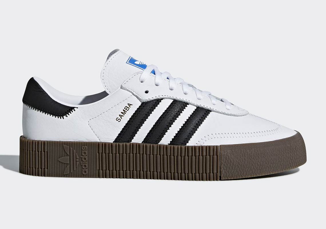 a7f81bb0614e adidas Originals Samba Rose AVAILABLE AT adidas  100. Color  Cloud White Core  Black Gum