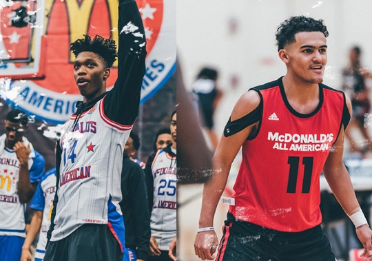 adidas Hoops Signs Trae Young And Lonnie Walker IV