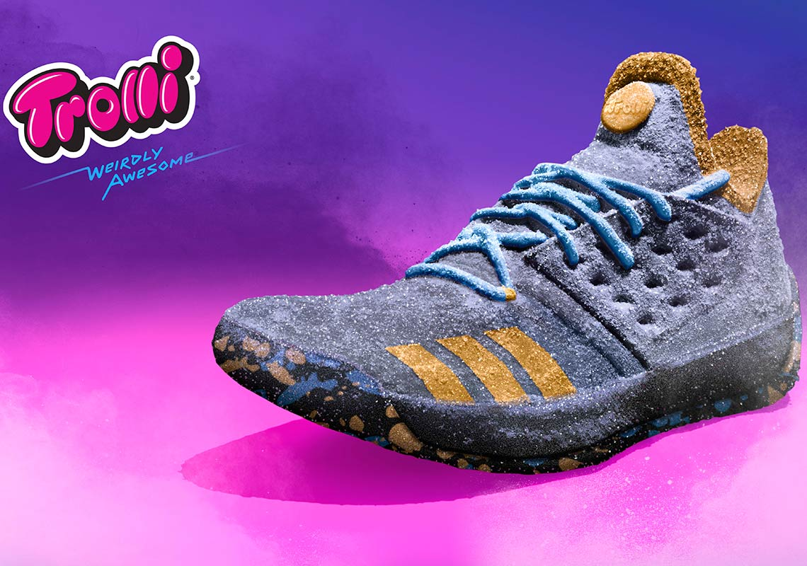 super popular 36b7a 332a3 Trolli James Harden adidas MVP Candy Shoe   SneakerNews.com