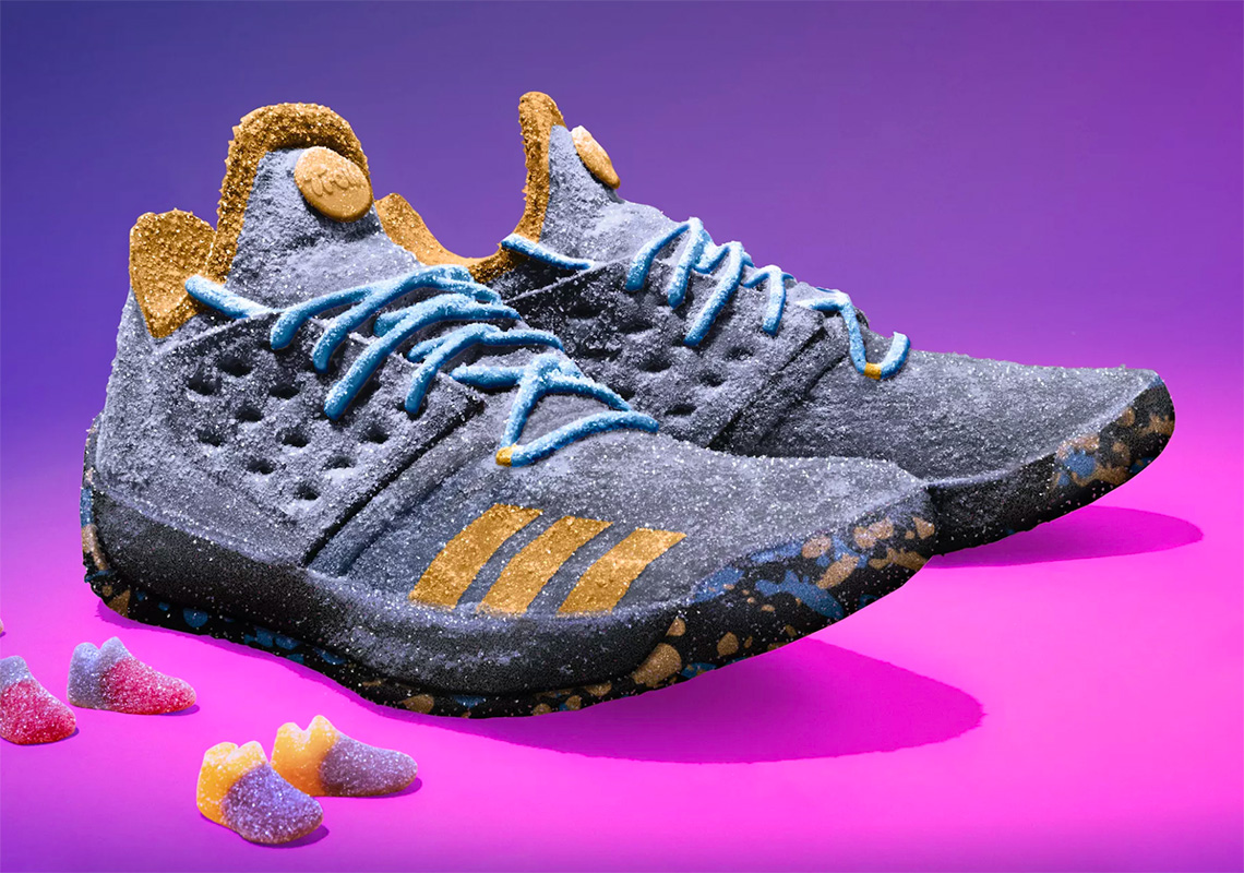 Trolli Celebrates James Harden s MVP With Life-sized adidas Shoe 42302732bb