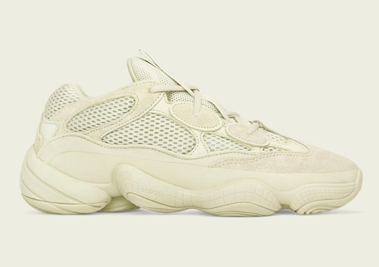"Raffle List For The adidas Yeezy 500 ""Super Moon Yellow"""