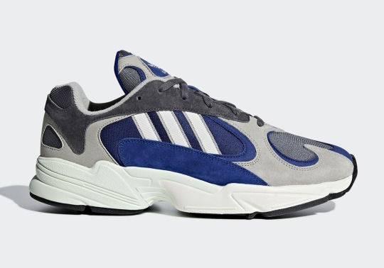 The adidas YUNG-1 Appears In New Grey And Navy Colorway