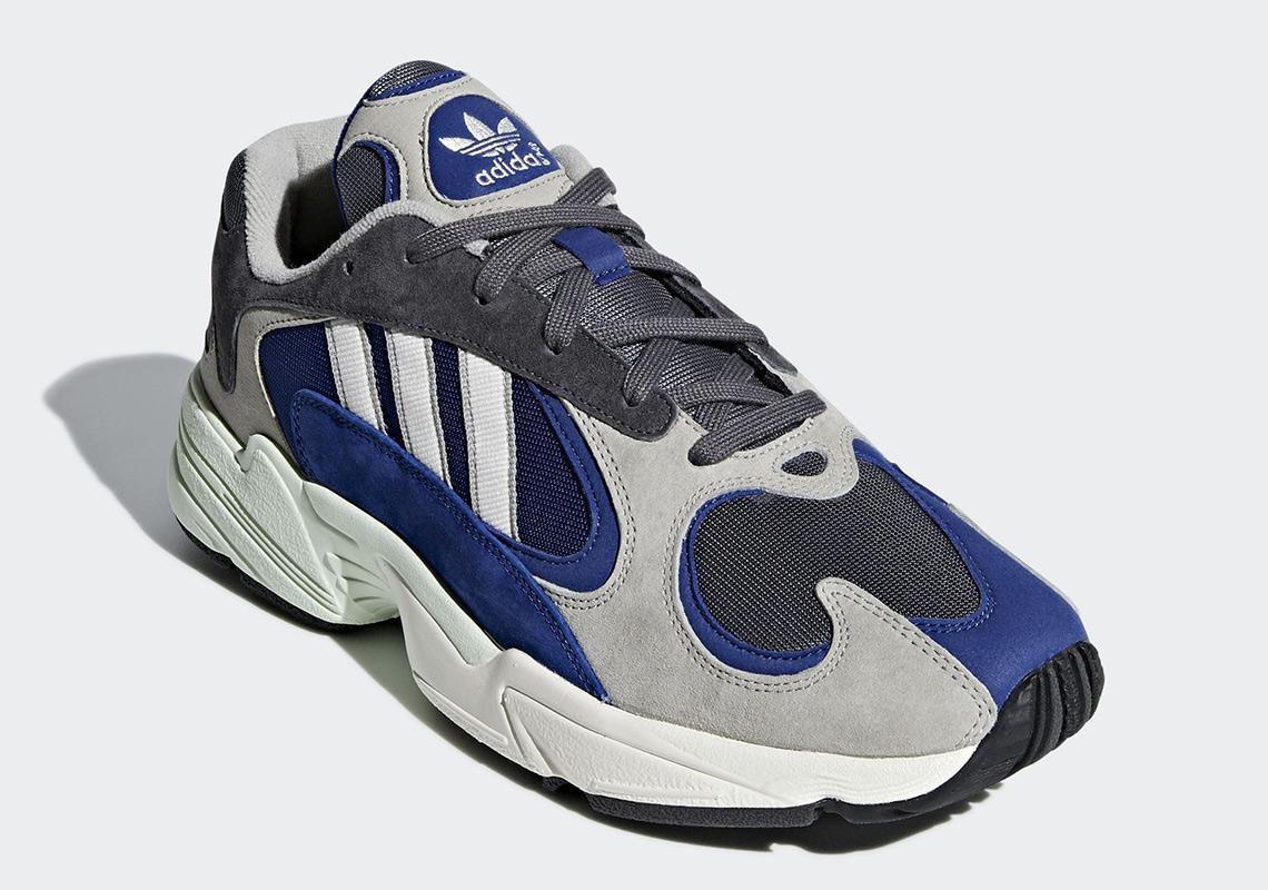 Adidas Yung 1 Grey Navy Aq0902 Sneakernews Com