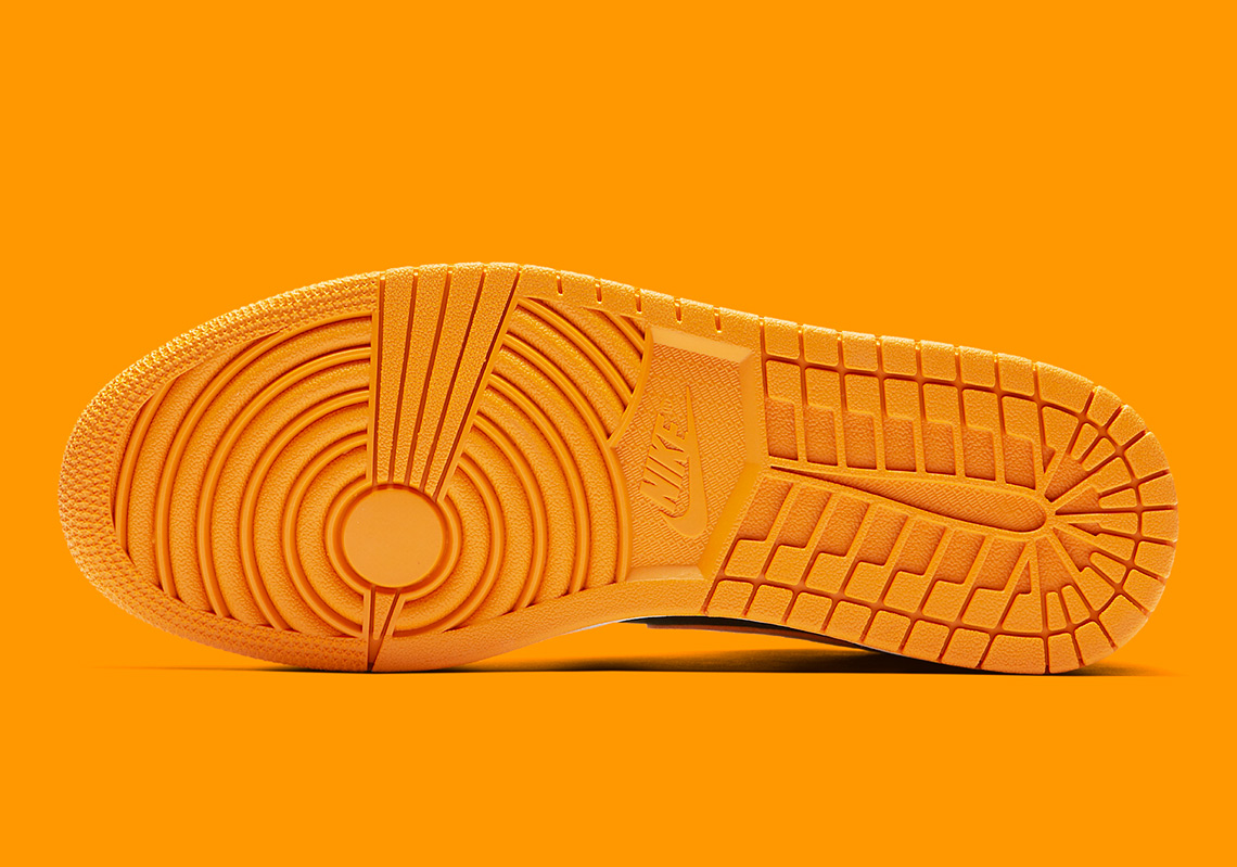on sale a7e3d d5e12 Air Jordan 1 Mid Black Orange Release Info 554724-081   SneakerNews.com
