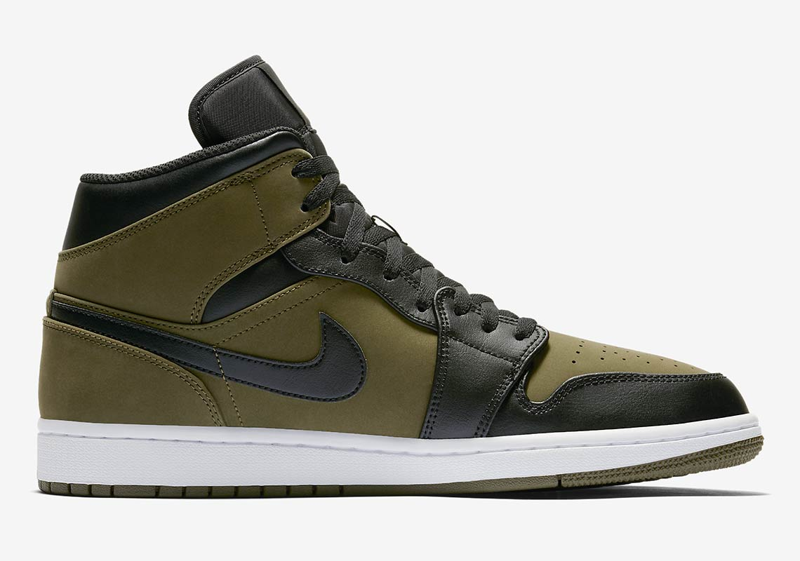 olive green and black 1s off 61% - www