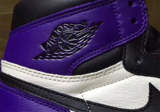 "Up Close With The Air Jordan 1 Retro High OG ""Court Purple"""