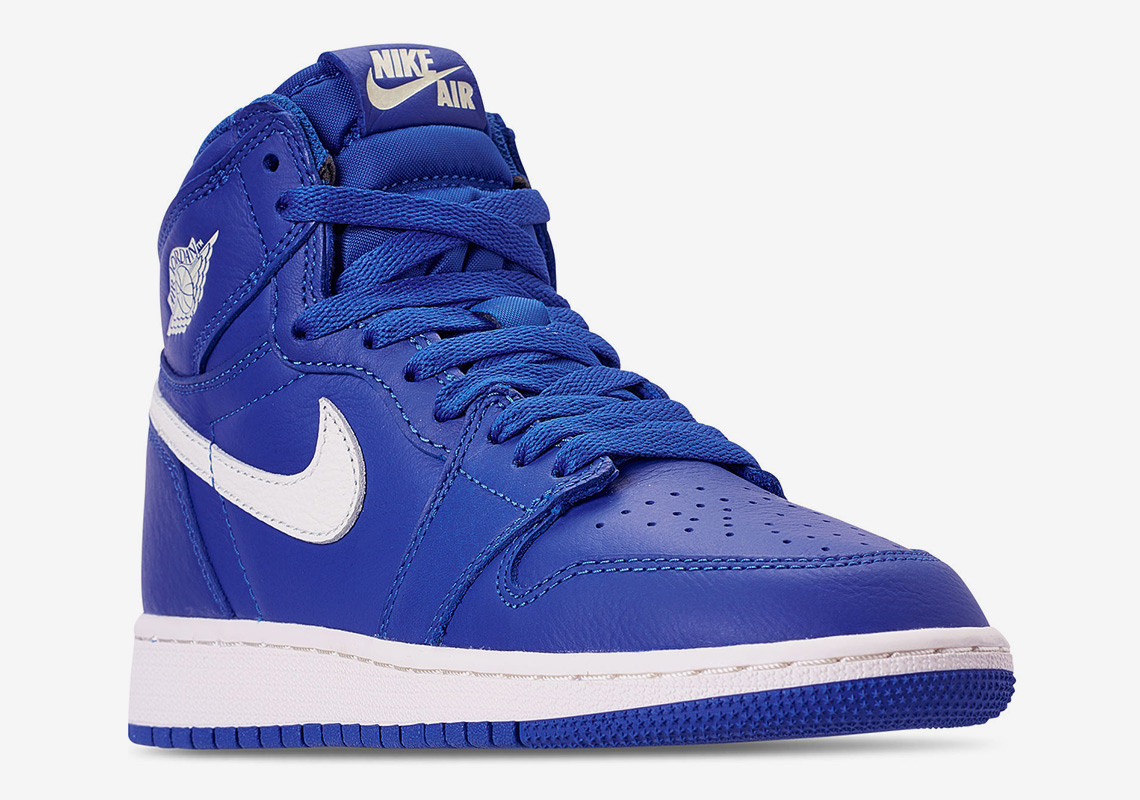"uk availability 343a5 7eaa3 The Air Jordan 1 ""Hyper Royal"" May Be Inspired By Lincoln High School"