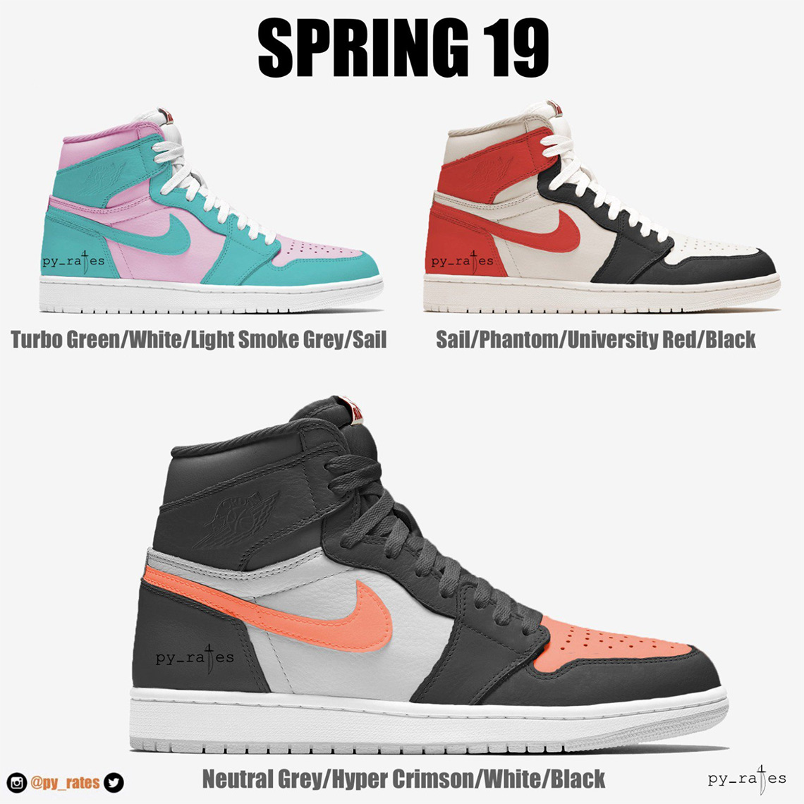 c72e00ba2d7 ... these upcoming Jordan 1s and stay tuned for release updates. In the  mean time