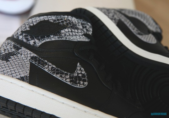 Jordan Brand Adds Exotic Snakeskin To This Air Jordan 1 For The Ladies