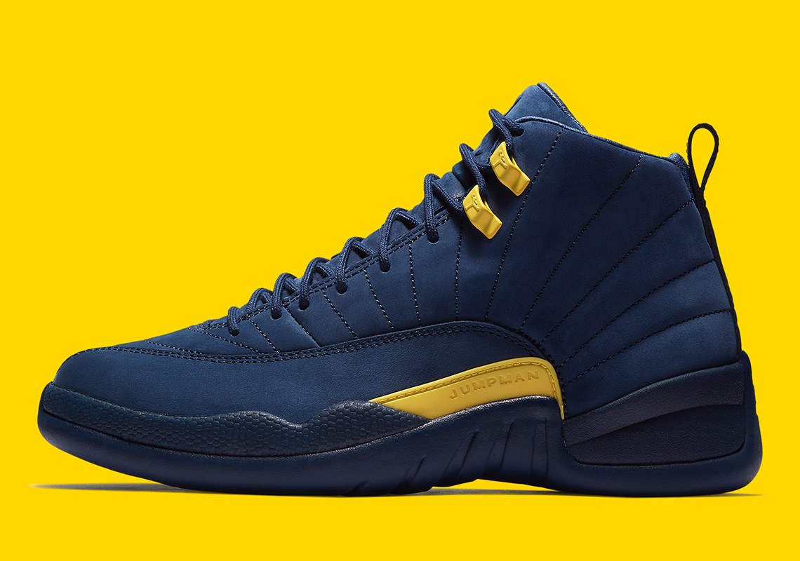 "Where To Buy The Air Jordan 12 ""Michigan"""