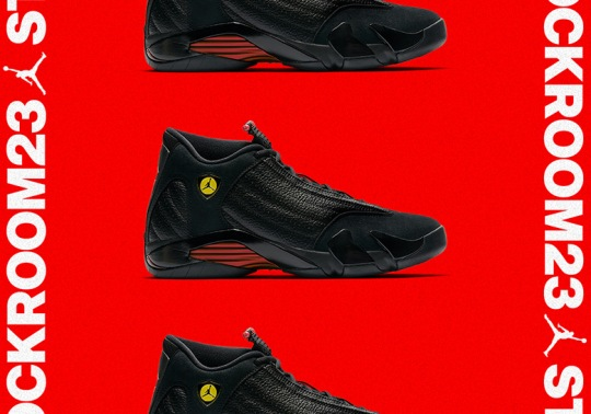 "Air Jordan 14 ""Last Shot"" To Release Early At House Of Hoops Through Stockroom23"