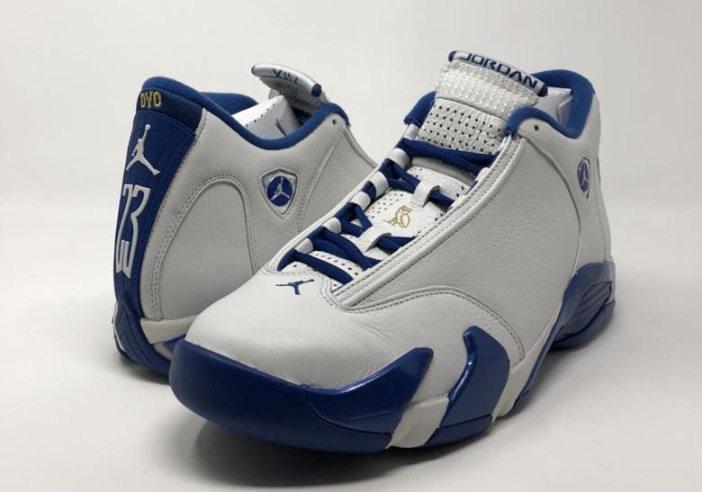 check out d9dbf 571a1 Air Jordan 14 OVO Drake Huskies/Kentucky PE | SneakerNews.com