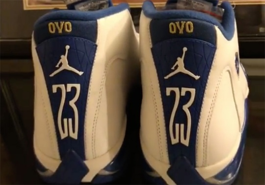 Drake OVO And Kentucky Had An Air Jordan 14 PE