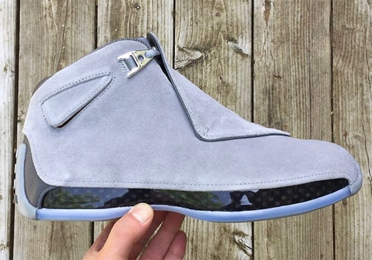 "Air Jordan 18 Retro Releasing In ""Cool Grey"""