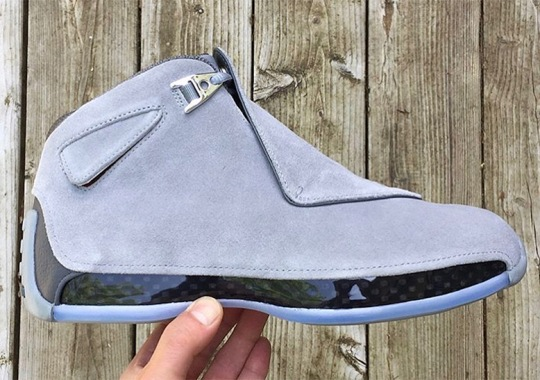 """Air Jordan 18 Retro Releasing In """"Cool Grey"""""""