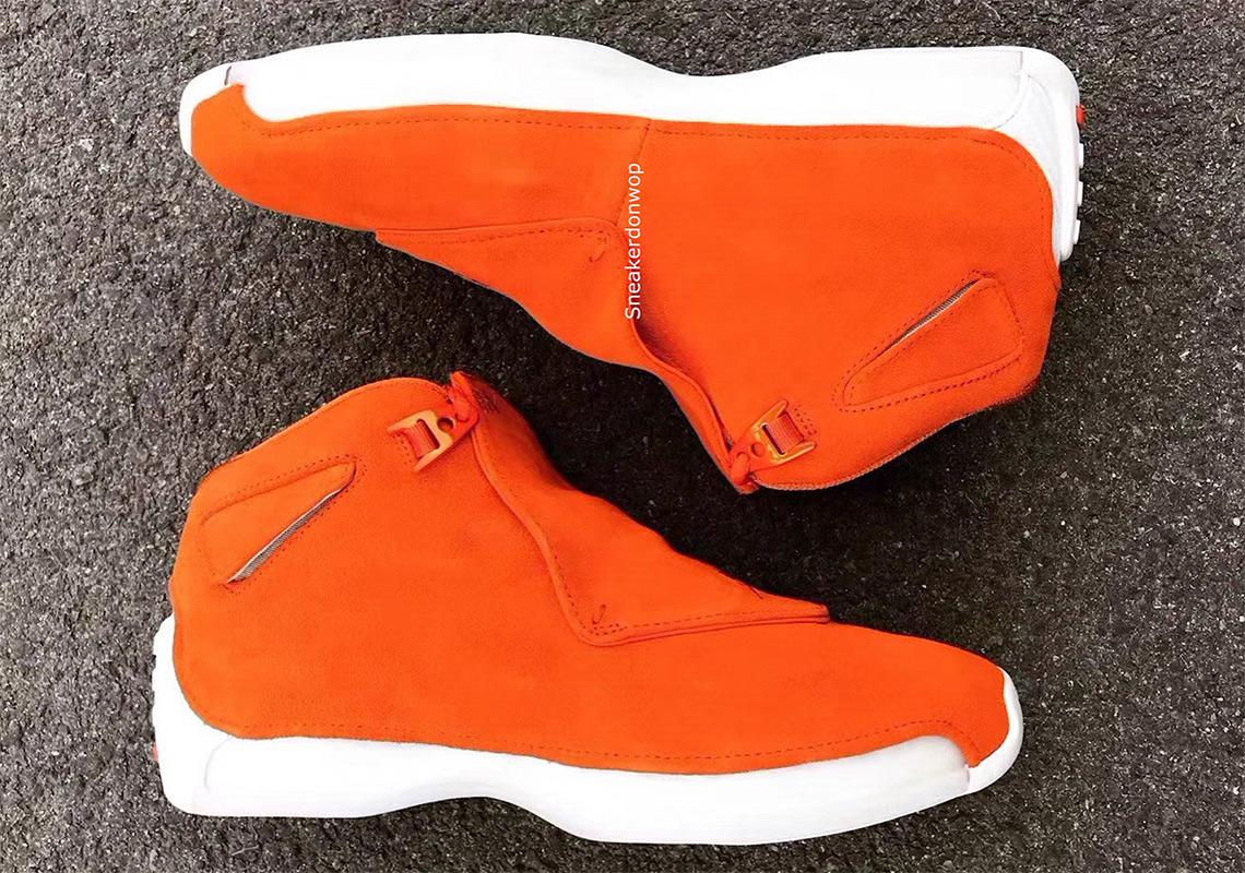 promo code f3748 9e1db Jordan Brand To Release An Orange Air Jordan 18 Retro This Year