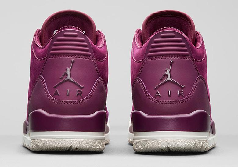 d37dea68bf01 Air Jordan 3 Bordeaux Womens AH7859-600 Release Info