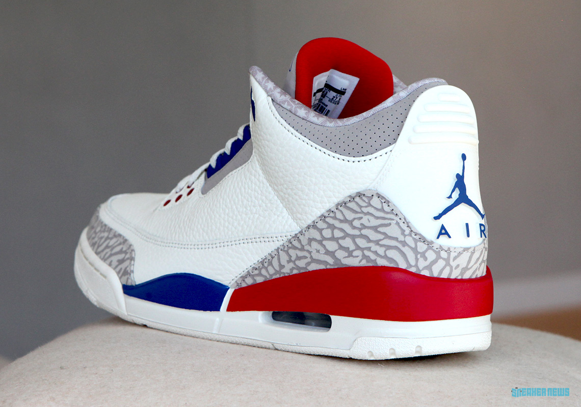 super popular 3f856 90231 Air Jordan 3. Release Date  June 30th, 2018  190. Color  Sail Sport Royal-Fire  Red Style Code  136064-140