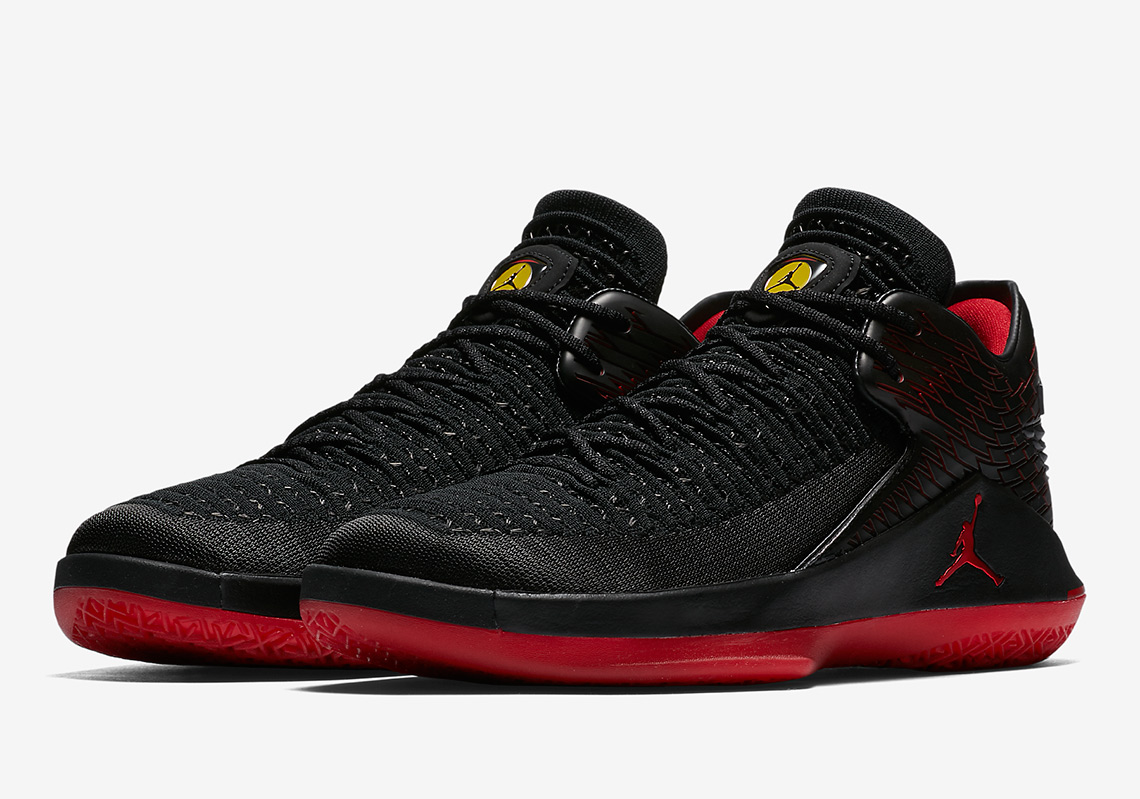 "timeless design b62e9 24fbc Air Jordan 14 ""Last Shot"" Release Date  June 14, 2018  190. Color  Black Varsity  Red-Black Style Code  487471-003. Air Jordan 32 Low "" ..."