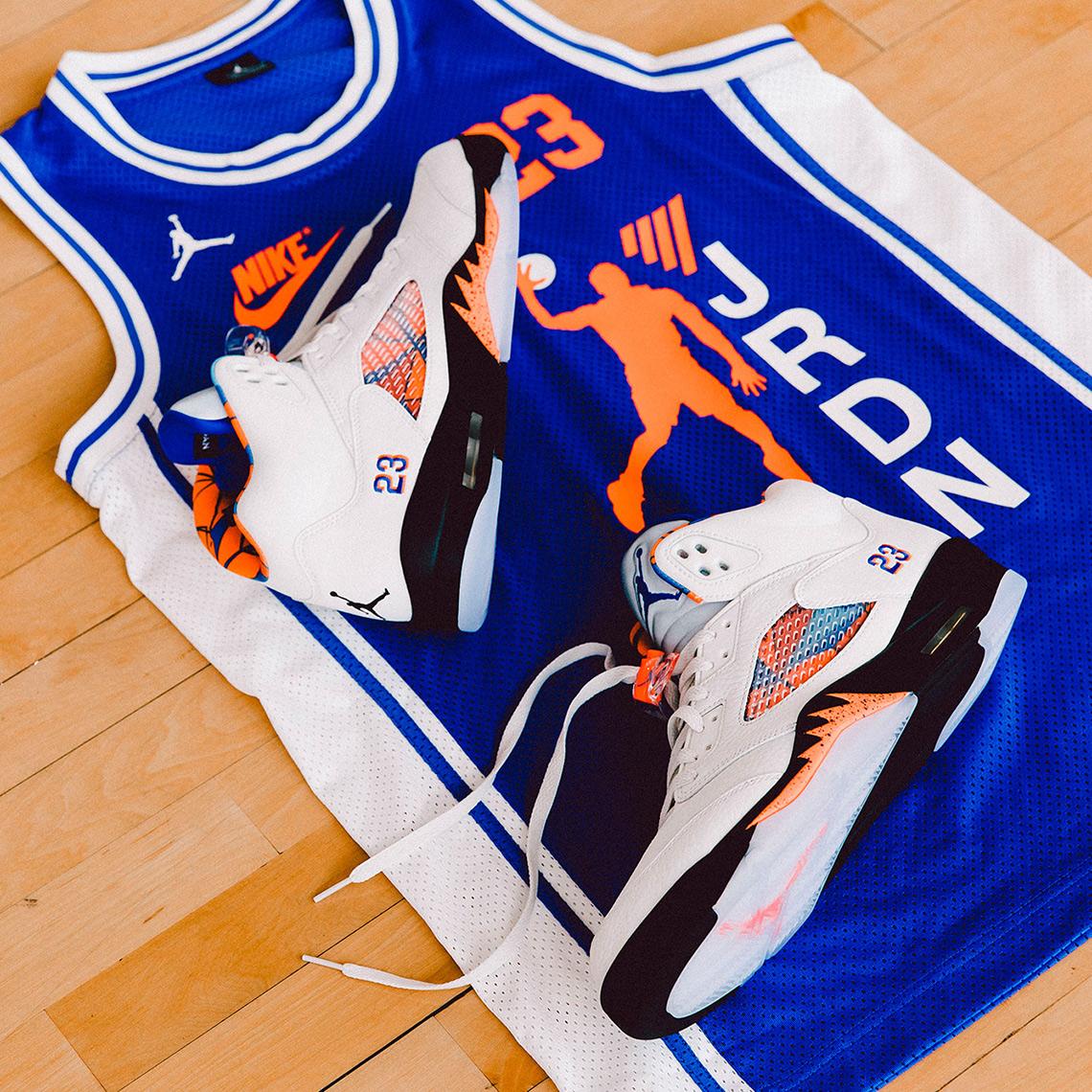 36c5dd91c32 Air Jordan 5 Retro Release Date: August 28th, 2018 $190. Color: Sail/Orange  Peel-Black-Hyper Royal