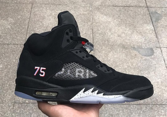 "Another Look At The Air Jordan 5 ""PSG"""