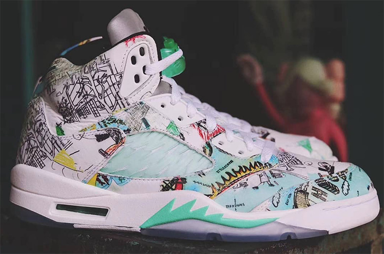 air jordan 5 wings