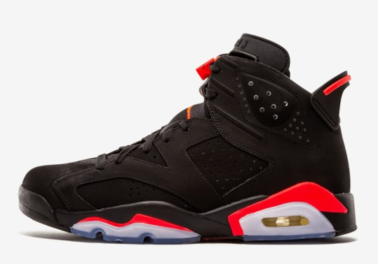 "The Air Jordan 6 ""Infrared"" Rumored To Return With Nike Air"