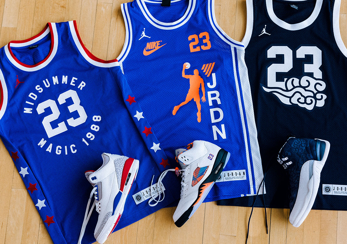 "e32f43cd062802 The Air Jordan ""International Flight"" Collection Will Release With Matching  Jerseys"